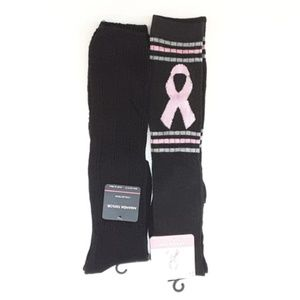 NWT, TWO PAIR KNEE HIGH SOCKS, size 5 - 11